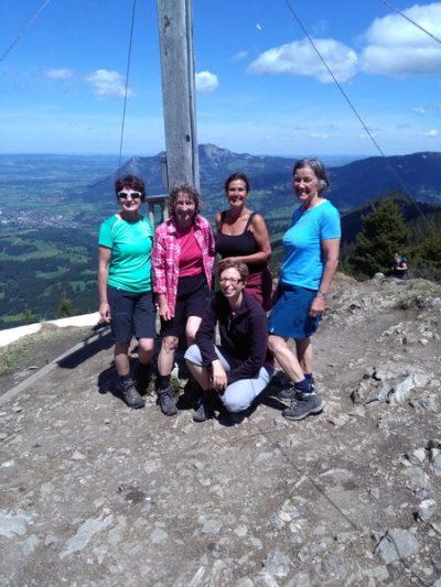 Frauenwandergruppe Tour 01.06.2019 Sonnenkopf & Schippenkopf