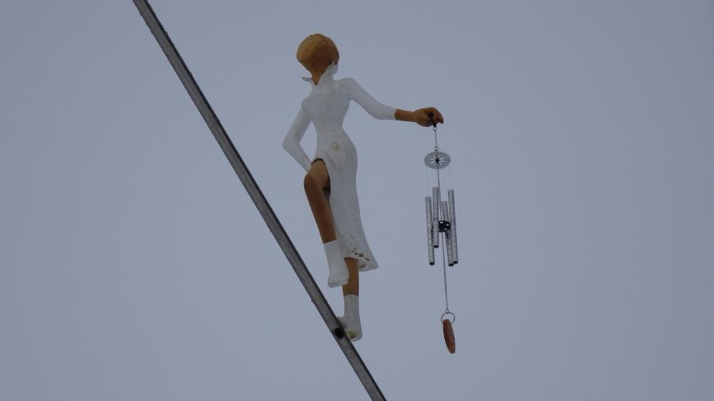 Skiausfahrt, nach Klosters/Davos in der Schweiz