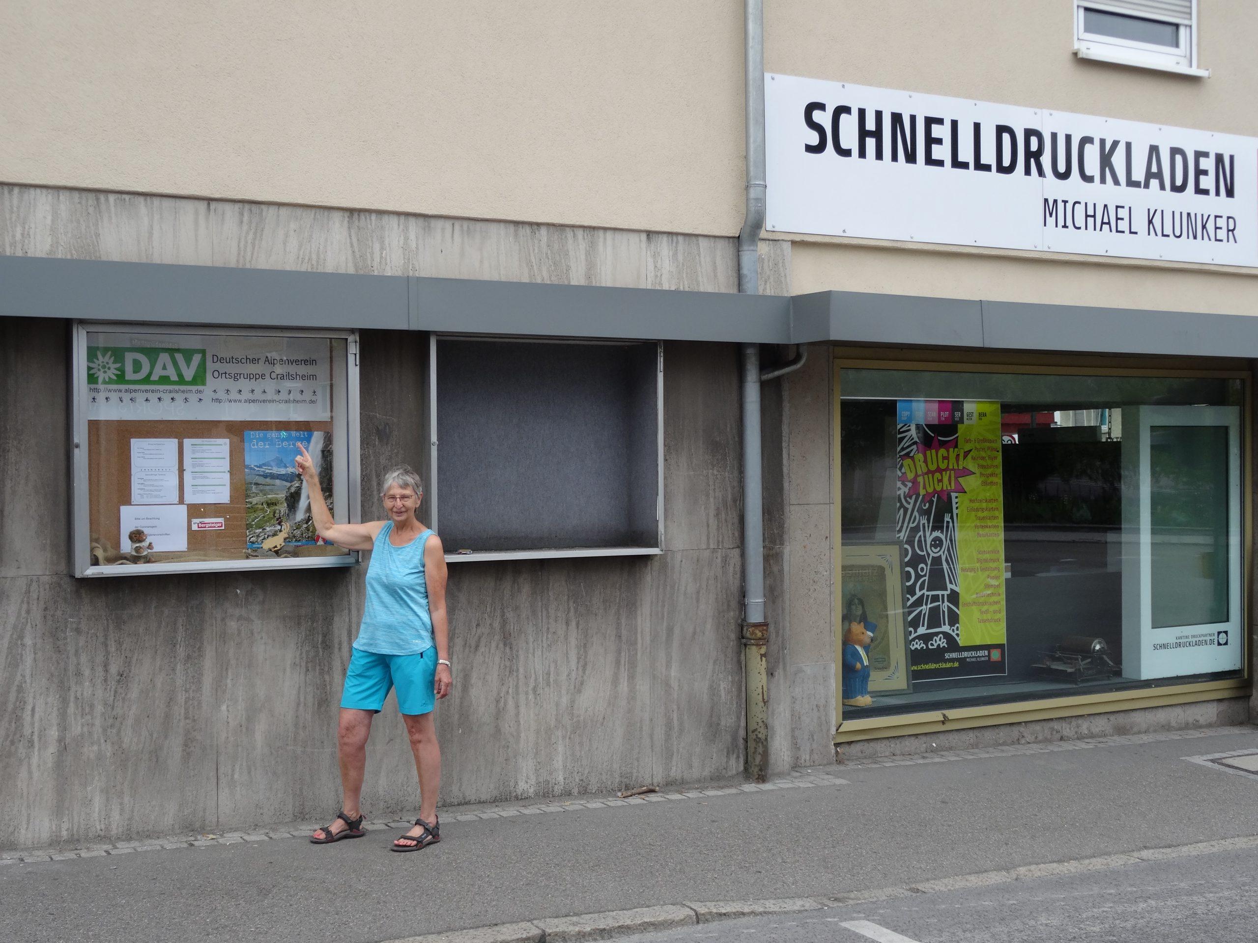 Schaukasten Crailsheim